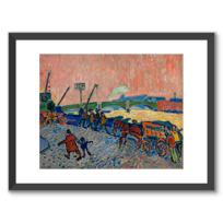 "Framed Art Print ""Les Quais de la Tamise"""
