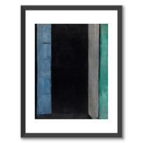 "Framed Art Print ""Porte-fenêtre à Collioure"""