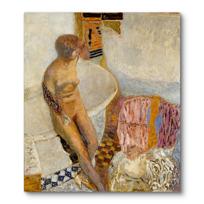 """Canvas Print """"Nu à la baignoire"""""""