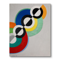"Canvas Print ""Rythmes"""