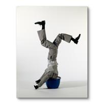 """Canvas Print """"Le mannequin"""""""