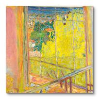 """Canvas Print """"L'Atelier au mimosa"""""""