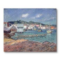 """Canvas Print """"Port de Martigues"""""""