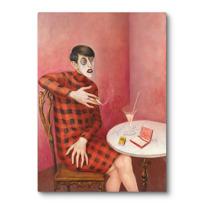 """Canvas Print """"Bildnis der Journalistin Sylvia von Harden"""""""