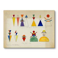 """Canvas Print """"Figurines pour tableau 16"""""""