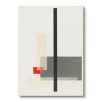 """Canvas Print """"Portfolio des maîtres du Bauhaus: (sans titre)"""""""