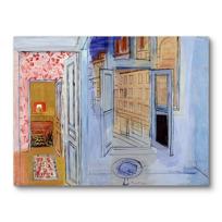 """Canvas Print """"L'Atelier de l'impasse Guelma"""""""