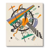 """Canvas Print """"Kleine Welten IV (Petits Mondes IV)"""""""