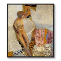"""Framed Canvas """"Nu à la baignoire"""""""