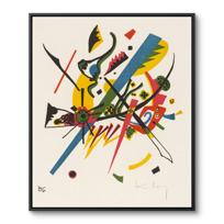 """Framed Canvas """"Kleine Welten I (Petits Mondes I)"""""""