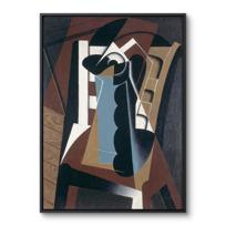 """Framed Canvas """"Nature morte sur une chaise"""""""