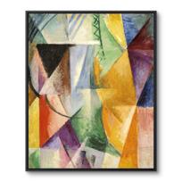 "Framed Canvas ""Une fenêtre"""