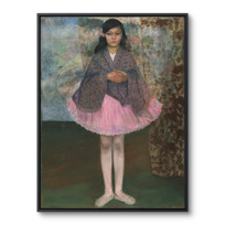 "Framed Canvas ""Petite danseuse"""