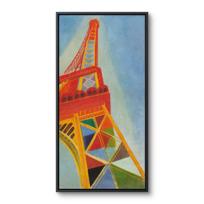 """Framed Canvas """"La Tour Eiffel"""""""