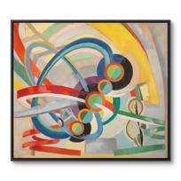 """Framed Canvas """"Hélice et rythme"""""""