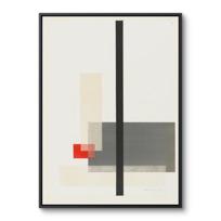 """Framed Canvas """"Portfolio des maîtres du Bauhaus: (sans titre)"""""""