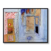 """Framed Canvas """"L'Atelier de l'impasse Guelma"""""""