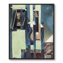 """Framed Canvas """"La Guitare"""""""
