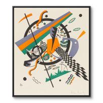 "Framed Canvas ""Kleine Welten IV (Petits Mondes IV)"""