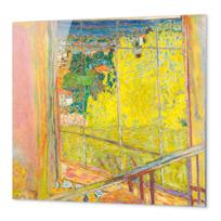 """Impression Aluminium """"L'Atelier au mimosa"""""""
