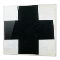 """Impression Aluminium """"Croix  [noire]"""""""