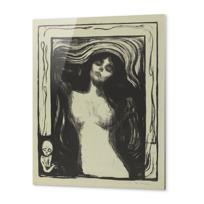 "Metal Print ""Madonna"""