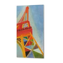 """Metal Print """"La Tour Eiffel"""""""