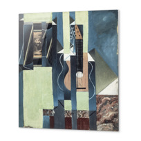 "Metal Print ""La Guitare"""