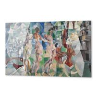 "Impression Aluminium ""La Ville de Paris"""
