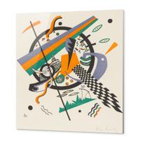 "Metal Print ""Kleine Welten IV (Petits Mondes IV)"""