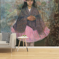 "Removable wallpaper ""Petite danseuse"""
