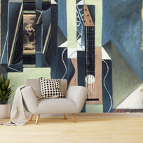 "Removable wallpaper ""La Guitare"""