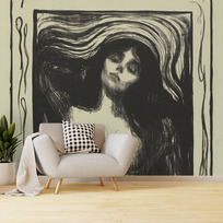 "Removable wallpaper ""Madonna"""