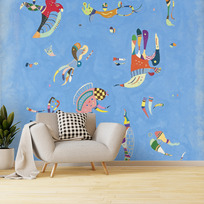 "Removable wallpaper ""Bleu de ciel"""