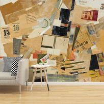 "Removable wallpaper ""Prikken paa I en (Le Point sur le i)"""