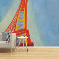 "Removable wallpaper ""La Tour Eiffel"""