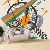 "Removable wallpaper ""Kleine Welten IV (Petits Mondes IV)"""