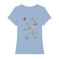 """Women's T-Shirt """"Bleu de ciel"""""""