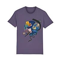 "Men's T-Shirt ""Gelb-Rot-Blau (Jaune-rouge-bleu)"""